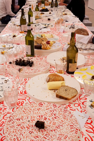Installation view, 'Dinner for 24 Elephants', Upstairs at The Modern Institute Osborne Street, Glasgow, 2011