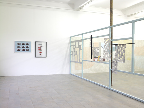 Installation view, 'Quotidian Aspect', Le Grand Café, Saint-Nazaire, 2012
