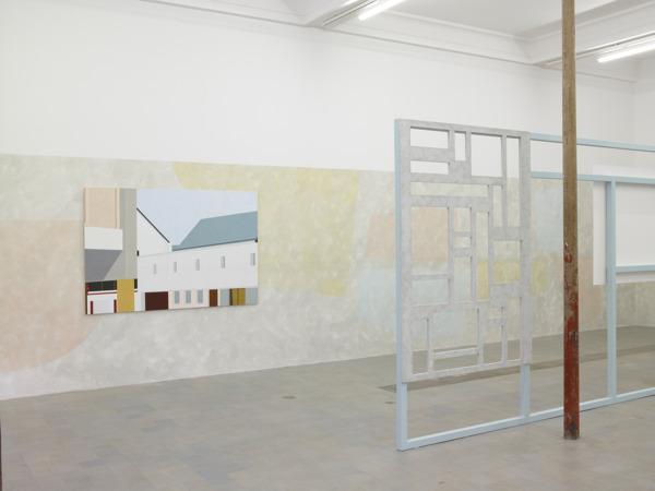 Toby Paterson, Commercial Landscape (Imprimerie Moderne), 2011, Acrylic on Aluminium, 120 x 180 x 2.5 cm