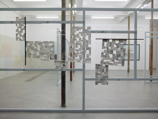 Toby Paterson, Double New Reconstruction, 2011, Acrylic on Perspex, Dimensions variable