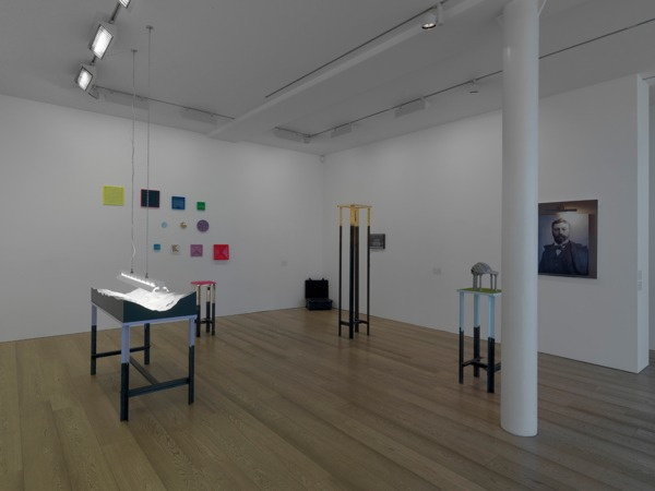 Installation view 'The Gild The Lily Flies', Sadie Coles HQ, London, 2011 (with Alan Kane)