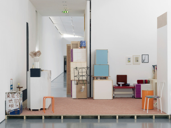 Manfred Pernice, Sonderausstellung: Living Platform, 2009-2011, Mixed Media, Dimensions Variable, Installation view, 'Déjà vu', DCA, Dundee, 2011