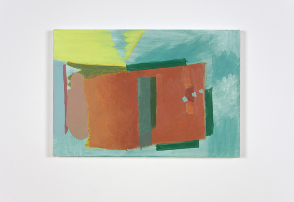 Andrew Kerr, Untitled, 2011, Acrylic on canvas, 50 x 74.5 cm