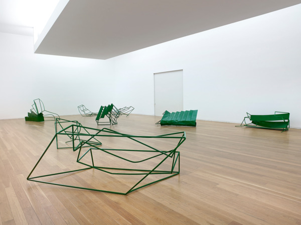Installation view, 'Architectonisation', Serralves Foundation, Porto, 2015