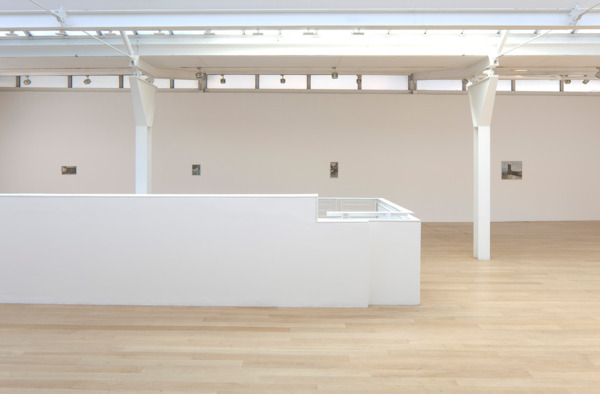 Installation view, 'Drowned Dust, Sudden Word', Fruitmarket Gallery, Edinburgh, 2012