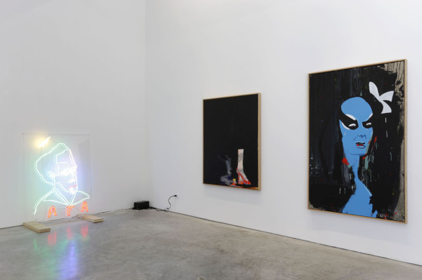 Installation view, 'Egyptian Diving Board Part II', Gavin Brown's enterprise, New York, 2010