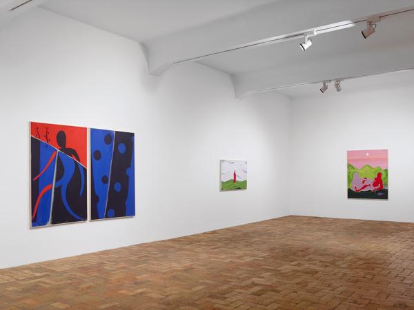 Installation view, 'Berlin Paintings', VeneKlasen Werner, Berlin, 2013