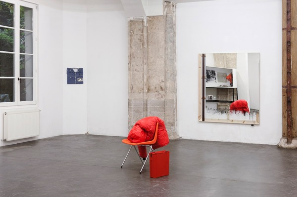 Installation view, 'Never Works', Le Temple, Paris, 2011