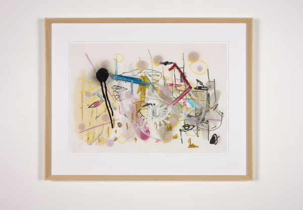 Gregor Wright, The Illusion of Privacy, 2012, Pastel and pencil on paper, 60.8 x 78.2 cm