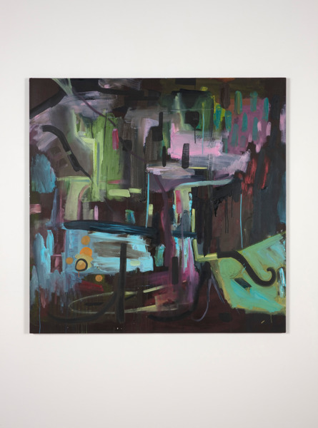Gregor Wright, Dream of Insomnia, 2012, Oil on Canvas, 125 x 125 cm