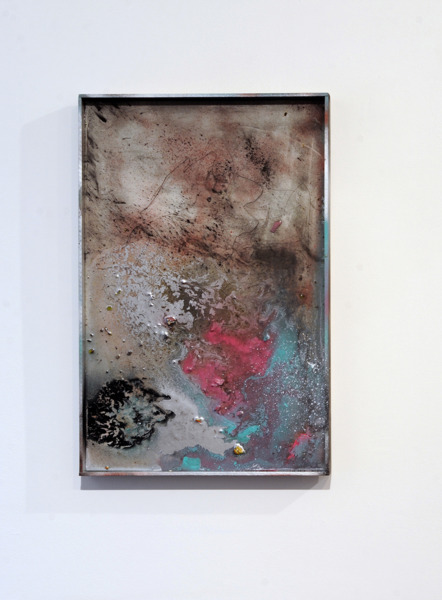 Gregor Wright, Custom Colour Super Dream I, 2014, Paint and resin on wood, 62 x 41.6 x 4 cm