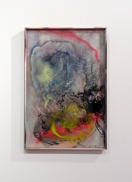 Gregor Wright, Custom Colour Super Dream VI, 2014, Paint and resin on wood, 62 x 41.6 x 4 cm