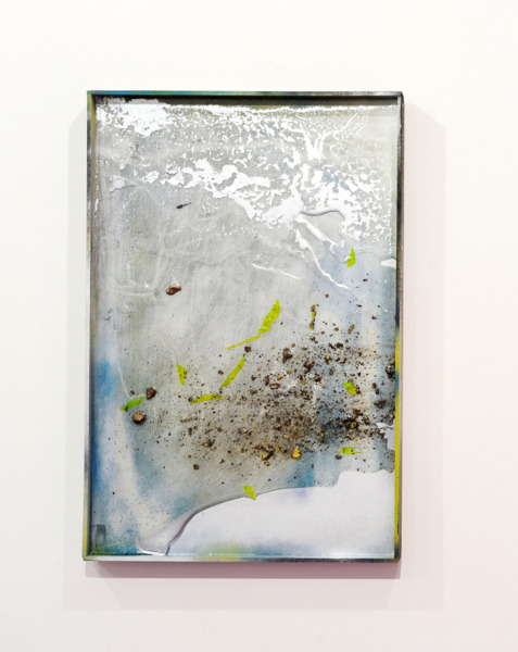 Gregor Wright, Custom Colour Super Dream VII, 2014, Paint and resin on wood, 62 x 41.6 x 4 cm