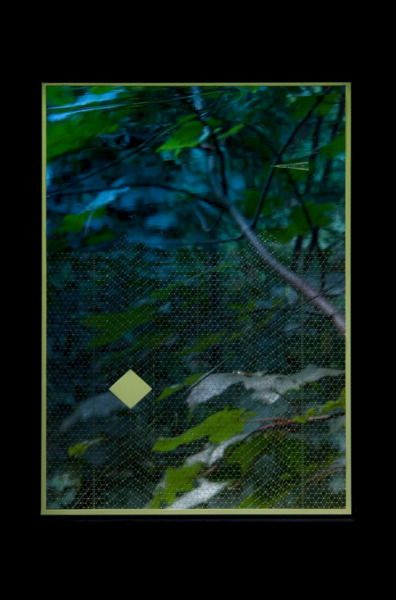 Richard Wright, No title, 2007, Etched handmade fused glass, 32 x 24 cm