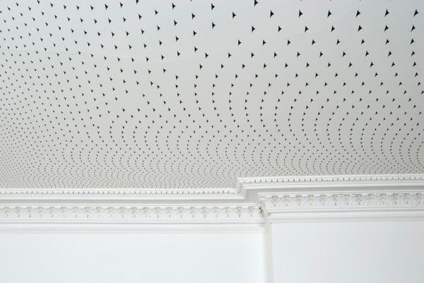 Richard Wright, No Title, 2007, Acrylic on wall, Dimensions Variable, Installation view, 26 London Street, Edinburgh, 2007 (Commissioned for 'Jardins Publics', Edinburgh International Festival)