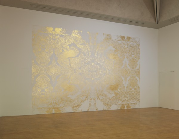 Richard  Wright, No Title (05.10.09), 2009, Gold leaf on wall, Dimensions variable, Installation view, 'Turner Prize 2009', Tate Britain, London, 2009