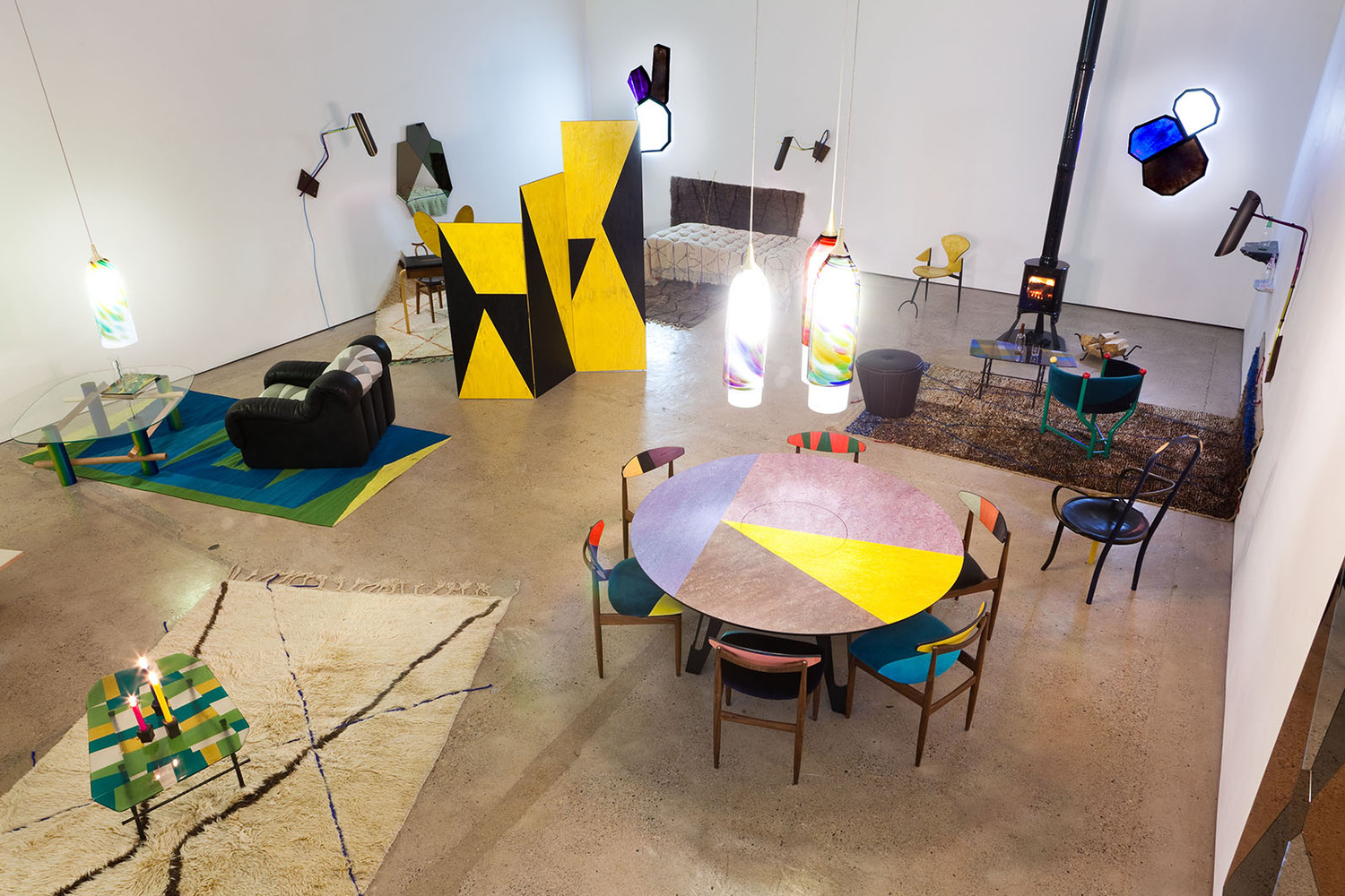 Installation view, 'Tu casa, mi casa', The Modern Institute, Aird's Lane, Glasgow, 2013