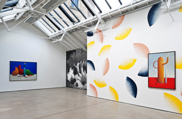 Installation view, 'Still Life oil paintings and Landscape watercolours', The Modern Institute, Osborne Street, Glasgow, 2013