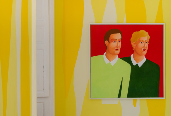 Installation view, 'Boys and Pastel', Inverleith House, Edinburgh, 2015