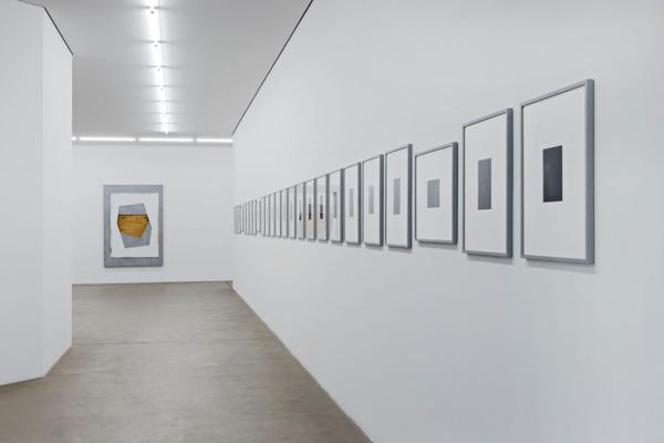 Installation view, Museum fur Gegenwartskunst, Basel, 2015