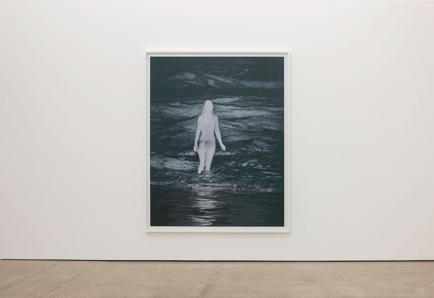 Anne Collier, Negative (California), 2013, C-print, 229.6 x 183.5 x 4.5 cm, Installation view The Modern Institute, Aird's Lane, Glasgow