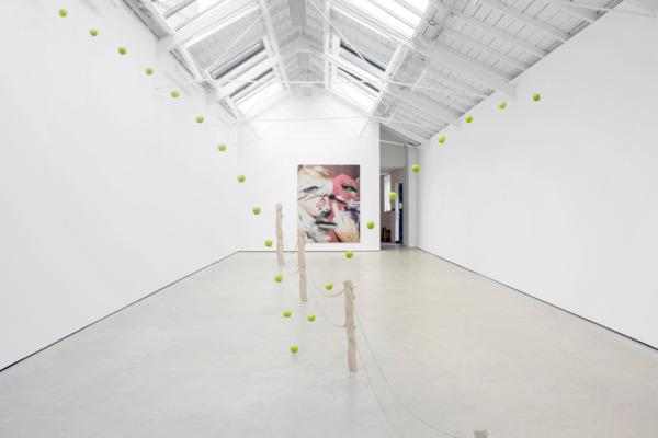 Installation view, '∞', The Modern Institute, Osborne Street, Glasgow, 2015