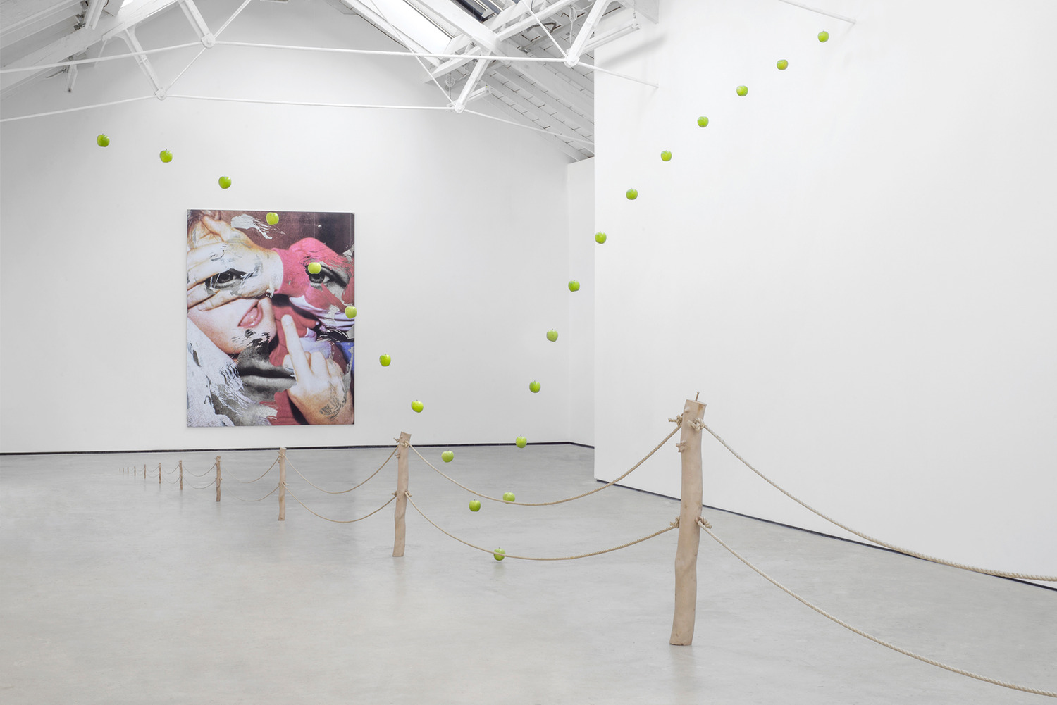 Installation view, '∞', The Modern Institute, Osborne Street, Glasgow, 2015