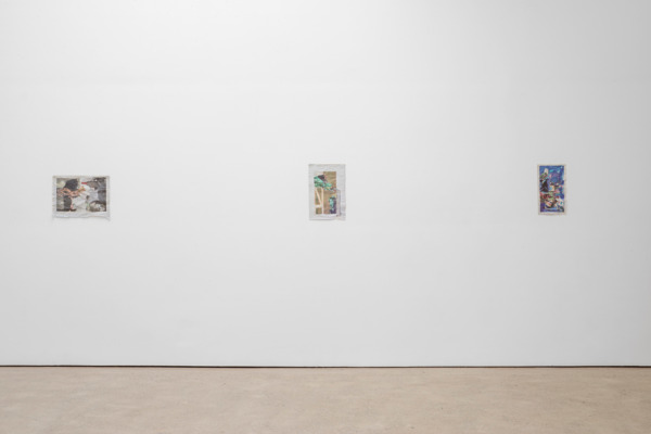 Installation view, 'The Shorter Alphabet', The Modern Institute, Aird's Lane, Glasgow, 2015
