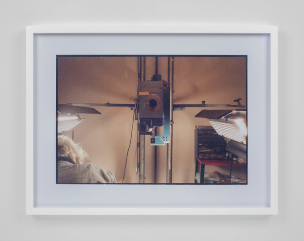 Luke Fowler, To The Editor of Amateur Photographer (JD printing at Leeds Animation Workshop, 2014), 2015, C-Print, 40 x 53 x 3.5 cm