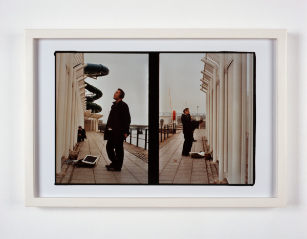Luke Fowler, Lee and Ben, Dundee, 2007, Giclee print, 32.6 x 47.7 x 3.2 cm, Edition of 3 + 1 AP