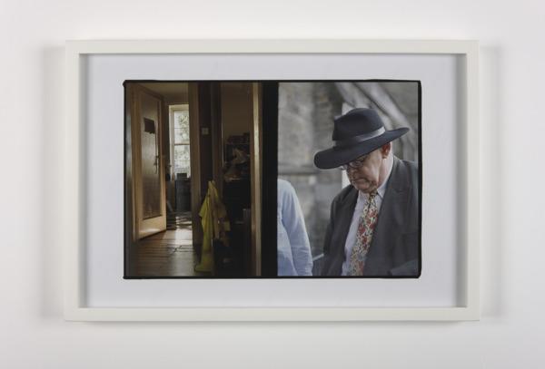 Luke Fowler, Francis and Fergus Drive, 2009, Giclee print, 32.6 x 47.7 x 3.2 cm, Edition of 3 + 1 AP