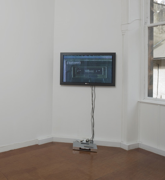 Installation view 'Records Played Backwards' (curated by Daniel Baumann), The Modern Institute, Robertson Street, Glasgow, 2008