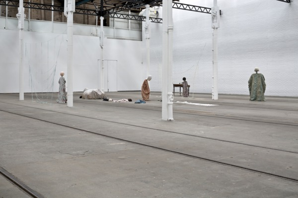 Cathy Wilkes, Untitled, 2014, Mixed media, Dimensions variable, Installation view, Tramway, Glasgow, 2014