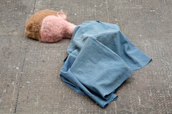 Cathy Wilkes, Untitled, 2014 (detail), Mixed media, Dimensions variable, Installation view, Tramway, Glasgow, 2014