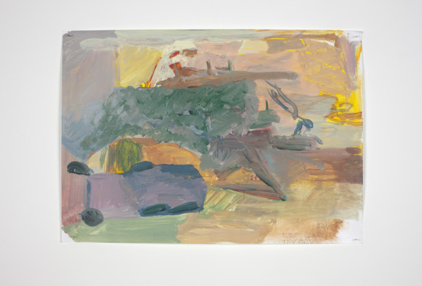 Andrew Kerr, Untitled, 2010-2012, Acrylic on paper, 29 x 41.5 cm
