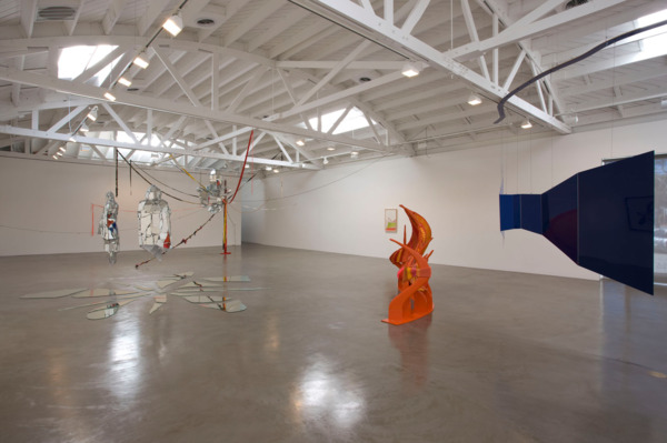 Installation view, 'Liz Larner: Selected Sculpture from the Early 1990s', Regen Projects, Los Angeles, 2008