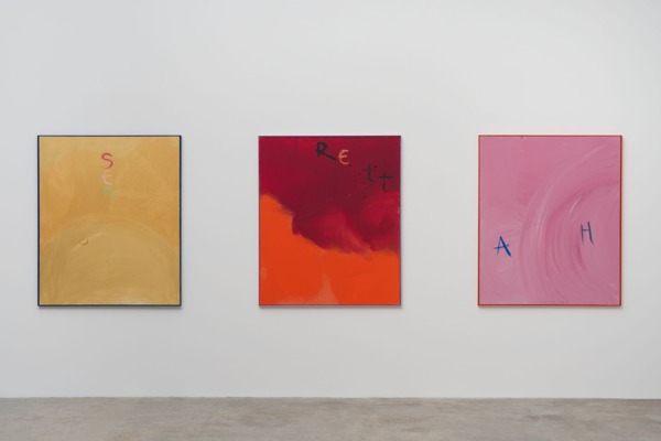 Sue Tompkins, Installation view 'Contort Yourself', Kayne Griffin Corcoran, Los Angeles, 2014