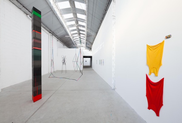 Installation view 'The Grass is Singing', Mendes Wood DM, São Paulo, 2015