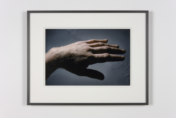 Peter Hujar, Study of Thek's Hand, 1967/2010, Pigmented ink print, 52.5 x 68 x 3 cm, Edition of 10