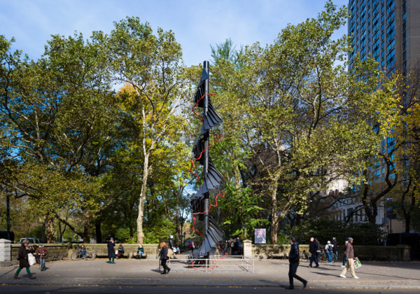 Installation view Doris C. Freedman Plaza, Central Park, New York, 2012