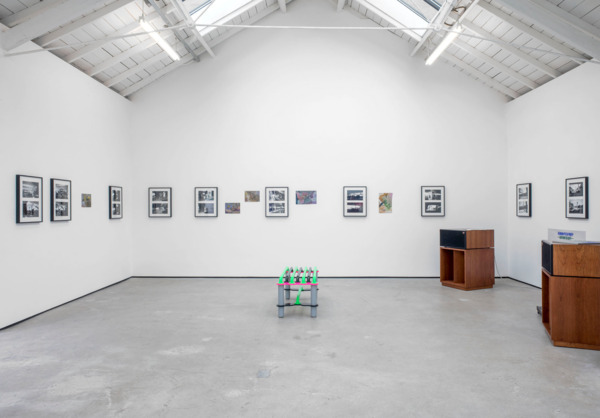 Installation view, 'In NO time', The Modern Institute, Osborne Street, Glasgow, 2014