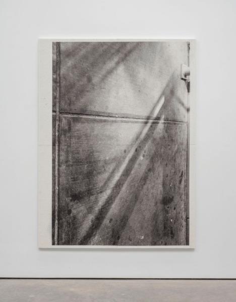 Adam McEwen, Untitled, 2014, Inkjet print on cellulose sponge, 200 x 150 x 3.5 cm