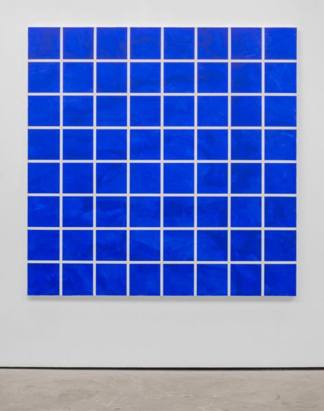 Heimo Zobernig, Untitled, 2008, Acrylic on linen, 200 x 200 x 5 cm