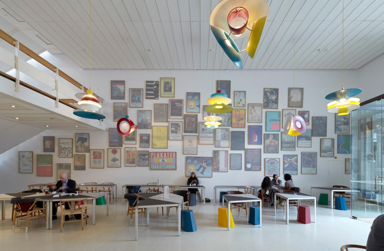 Installation view 'Café Charlottenborg', Kunsthal Charlottenborg, Copenhagen, 2011