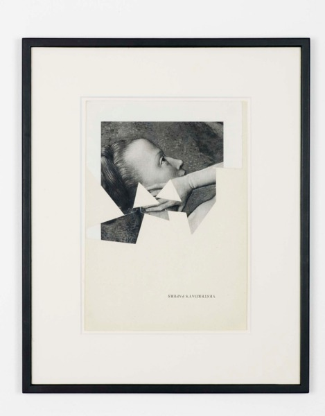 Katja Strunz, Untitled, 2006, Collage, 31 x 21 cm