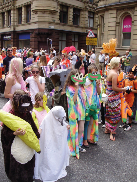 Procession, 2009. My Favourite Thing: children in themed fancy dress.
