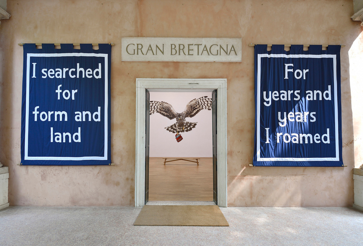 Installation view 'English Magic', British Pavillion, Giardini de Castello, 30122, Venice Biennale, Venice, 2013