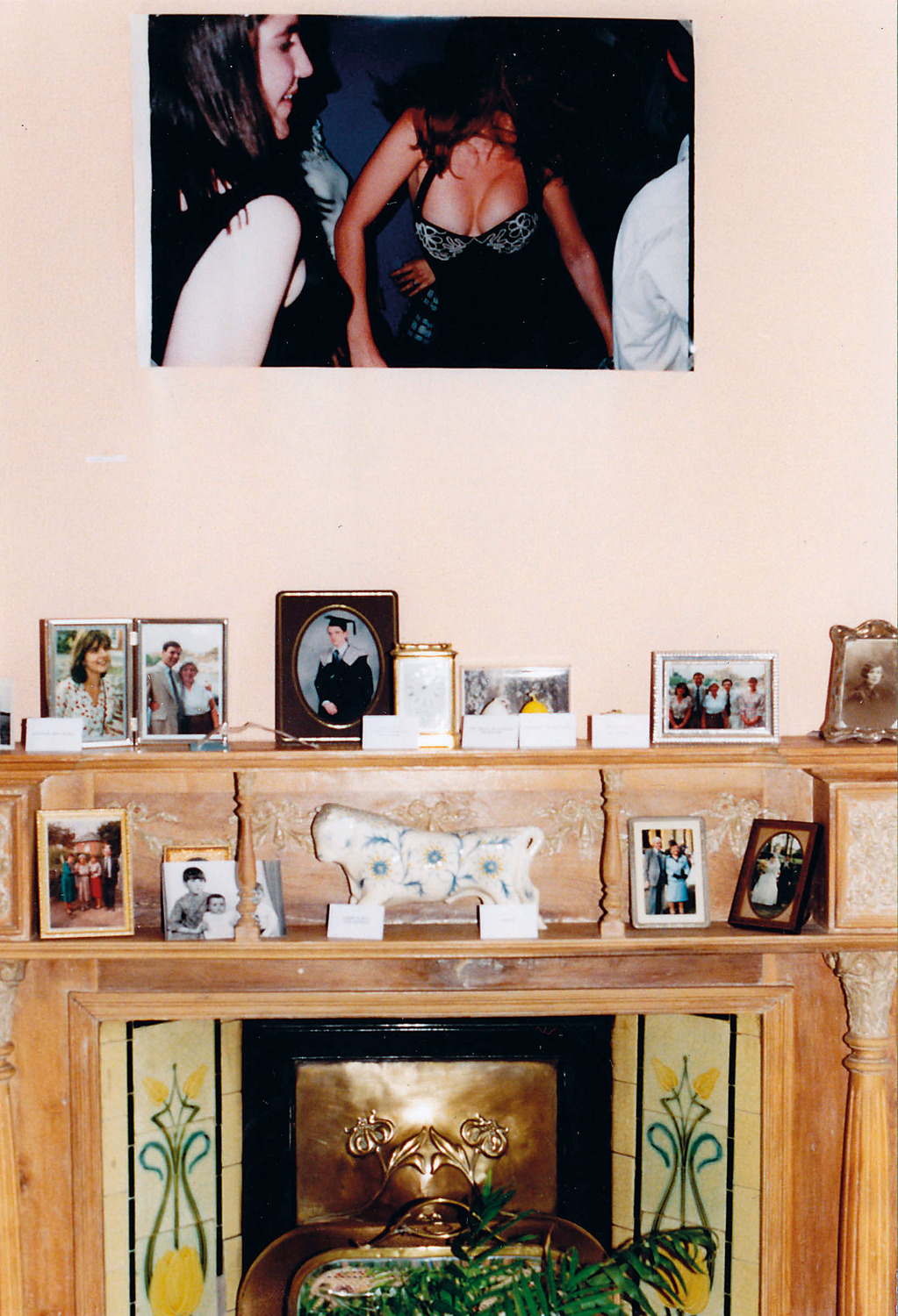 Open Bedroom, 1993. Installation, Deller family home.