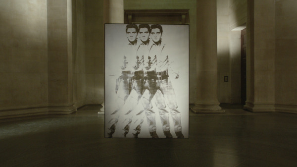 Simon Starling, Phantom Ride, 2013 (still), HD video projection (loop), Duration 7 mins 20 sec, Edition of 5 + 1 AP