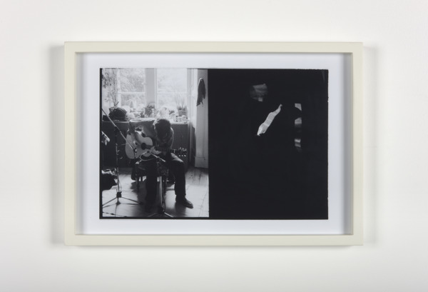 Luke Fowler, Tony Swain Trio recording in my parents' home (tony), 2009, Giclee print, 32.6 x 47.7 x 3.2 cm, Edition of 3 + 1 AP